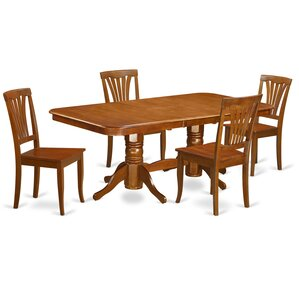 Napoleon 5 Piece Dining Set by East West ..