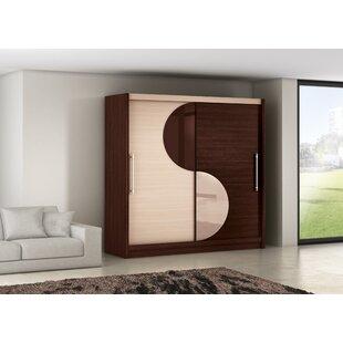 Nasir 2 Door Sliding Wardrobe By Ebern Designs