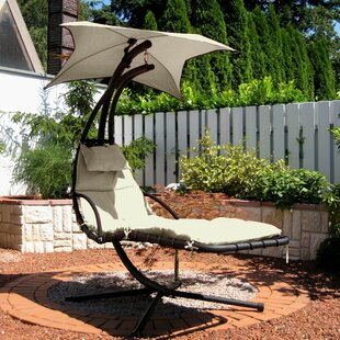 Hanging Chaise Lounger With Stand By Freeport Park