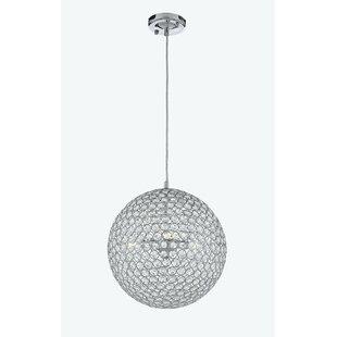 Huckstep Modern 1-Light Crystal Pendant by Orren Ellis