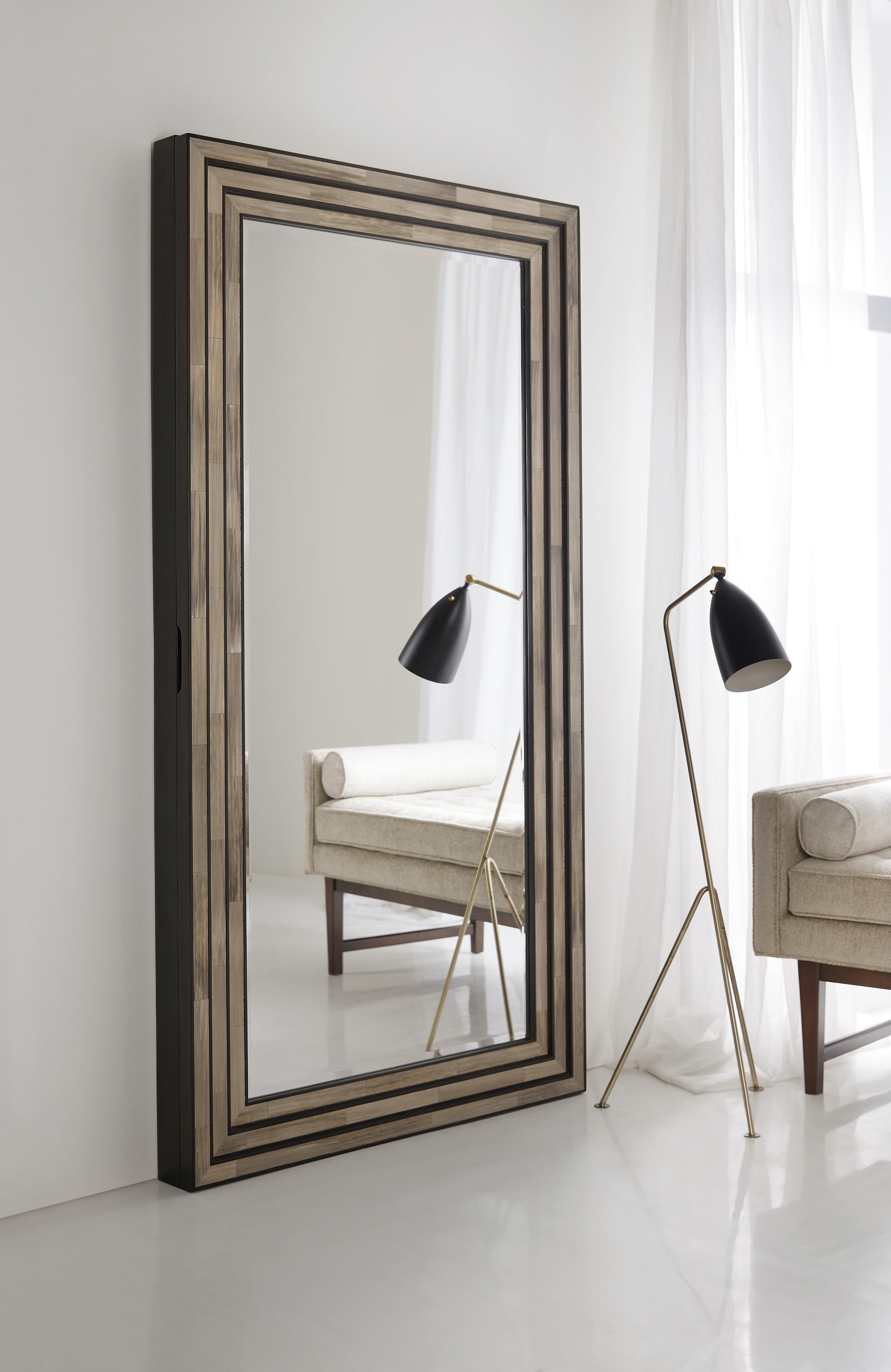 Hooker Furniture Melange Venice Wall Mount Jewelry Armoire With Mirror Wayfair