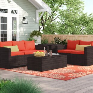 Arlington 4 Piece Sofa Set with Cushion by Sol 72 Outdoor