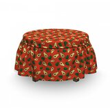 Half Piece Ottoman Slipcover (Set of 2) by East Urban Home