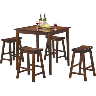 Elizabet Piece Counter Height Pub Set by Red Barrel Studio