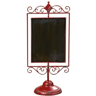 Iron Lacquered Tabletop Chalkboard
