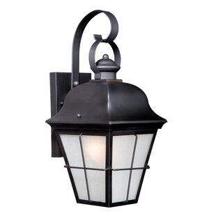Charlton Home Fawcett 1-Light Outdoor Wall Lantern