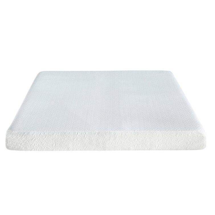 Alwyn Home 6'' Firm Gel Memory Foam Sofa Bed Mattress