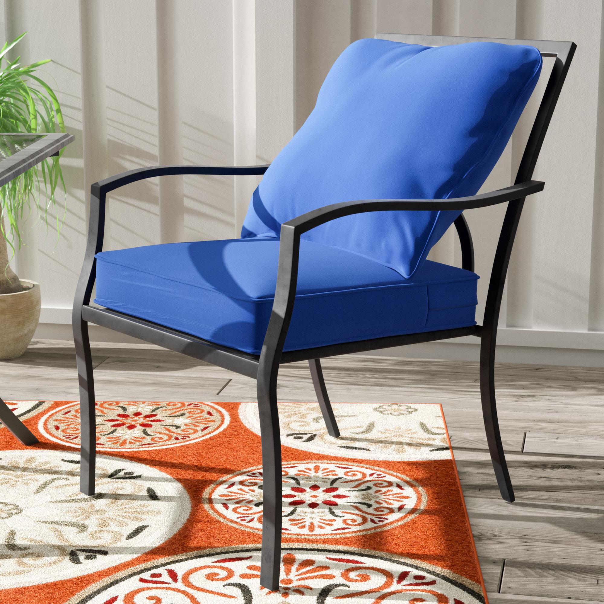 ec6baa95b59 Andover Mills Sarver Indoor Outdoor Lounge Chair Cushion   Reviews ...