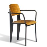 Janelle Side Chair in Brown by sohoConcept