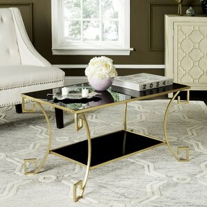 Willa Arlo Interiors Ondina Woodsetter Coffee Table Image
