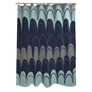 Mila Mountains Single Shower Curtain