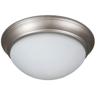 Charlton Home Berwyn 2-Light Flush Mount