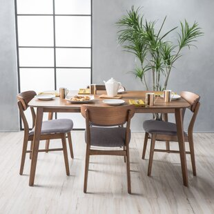 Modern contemporary dining room sets allmodern feldmann 5 piece dining set workwithnaturefo