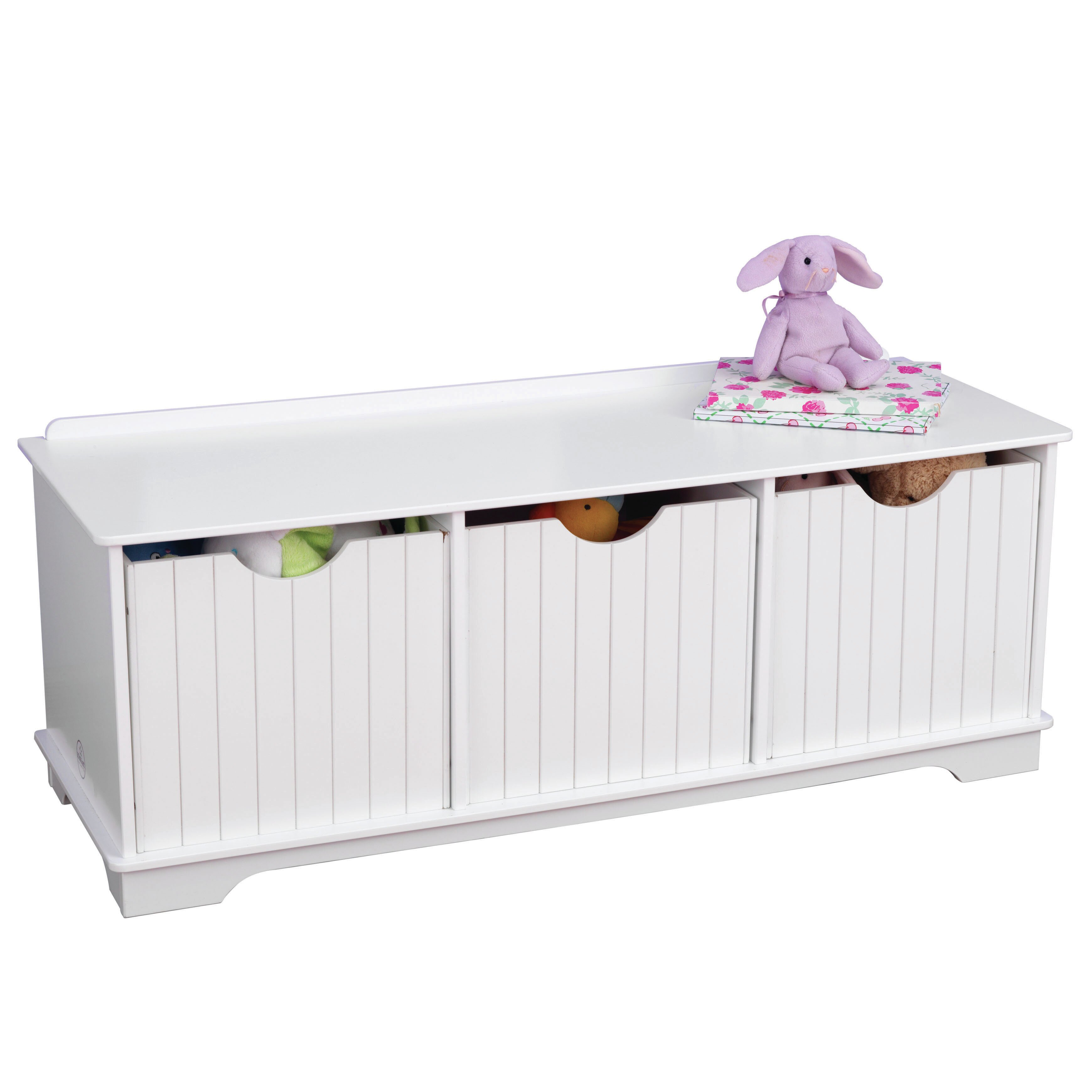 Kidkraft Nantucket Toy Storage Bench Reviews Wayfair