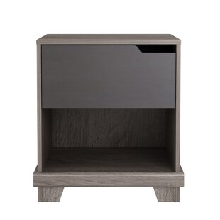 Homestar Waterloo 1 Drawer Nightstand