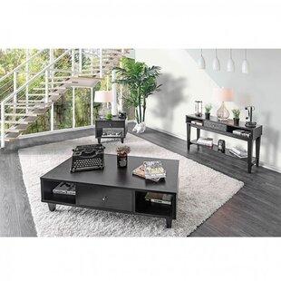 Rosdorf Park Skyler 3 Piece Coffee Table Set