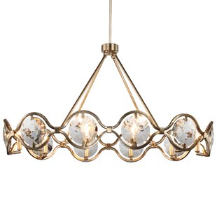 Geil 10-Light Geometric Chandelier by Everly Quinn