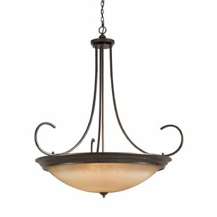 Darby Home Co Edgecomb 12-Light Bowl Pendant
