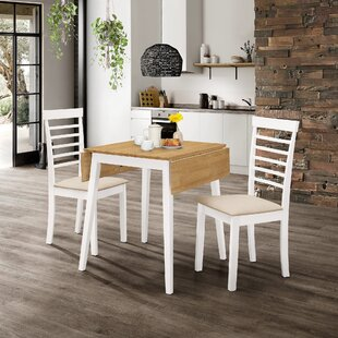 Review Mcneill Extendable Dining Set With 2 Chairs