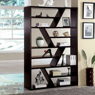 Coupon Hendina Library Bookcase by Wrought Studio
