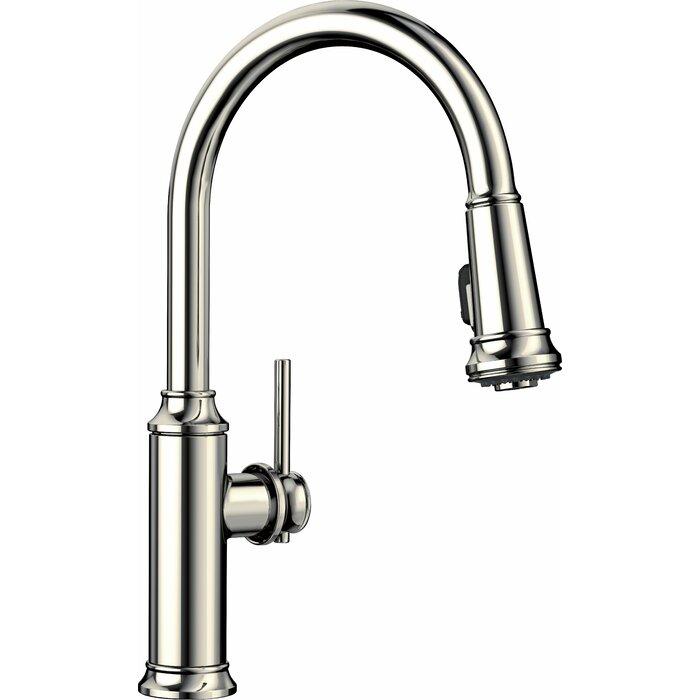 Empressa Pull Down Single Handle Kitchen Faucet