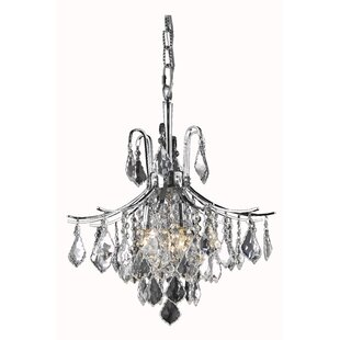 Amelia 6-Light Crystal Chandelier by Living District