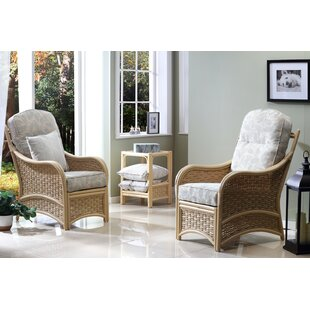 Angelica 3 Piece Conservatory Sofa Set By Beachcrest Home