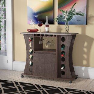 Ebern Designs Dennard 12 Bottle Wine Bar