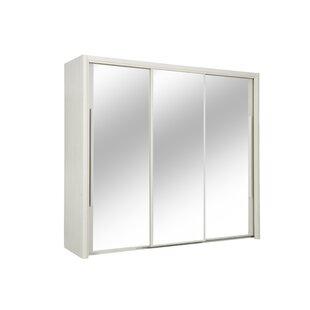 Jaylin 3 Door Sliding Wardrobe By Ebern Designs