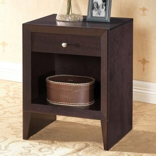 Malachi 1 Drawer Nightstand by Andover Mills