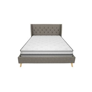 her majesty queen upholstered platform bed