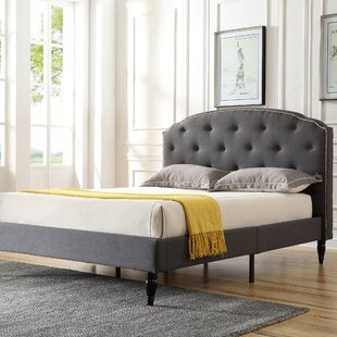 Deals Evendale Upholstered Platform Bed by Charlton Home Reviews (2019) & Buyer's Guide