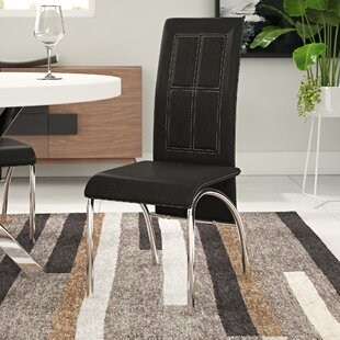 Review Nissa Upholstered Dining Chair (Set Of 2)