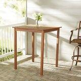 Folse Solid Wood Bar Table