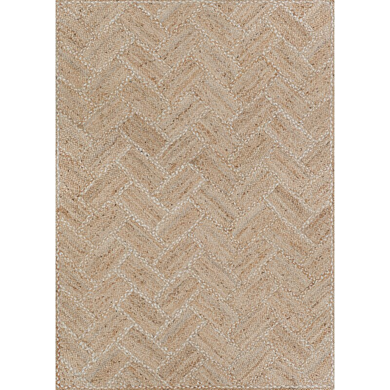 Highland Dunes Yvaine Chevron Brown Area Rug Reviews Wayfair