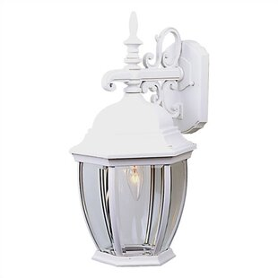 Comparison Oakhill 1 Light Outdoor Wall Lantern By Charlton Home