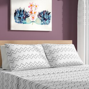 Gillard Chevron Printed Sheet Set