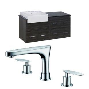 Alican 49 WallMounted Single Bathroom Vanity