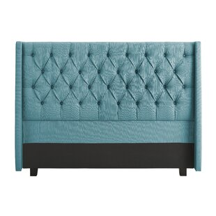 Lillibridge Upholstered Wingback Headboard by Alcott Hill