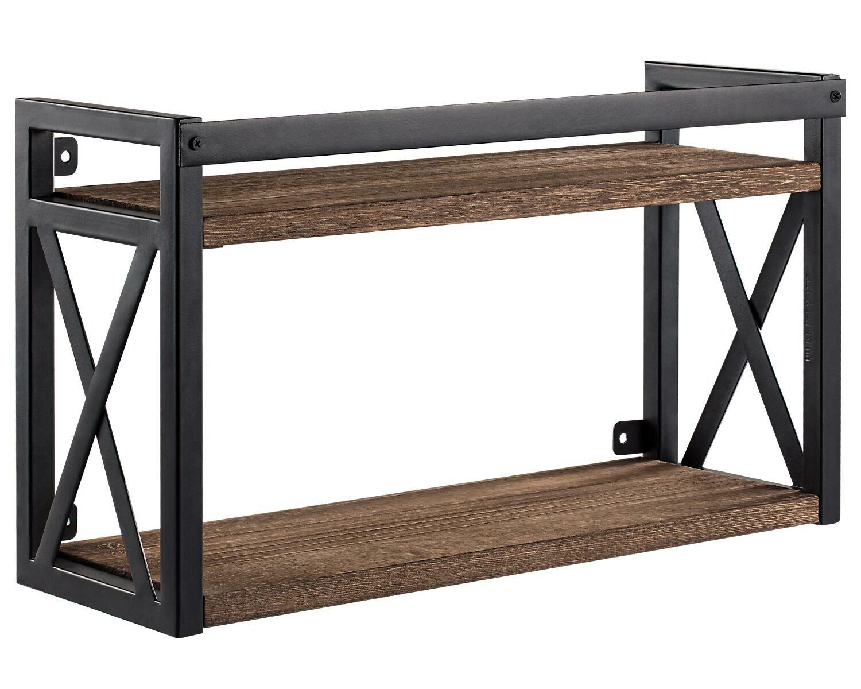 gracie oaks rogue 2 piece floating shelf w