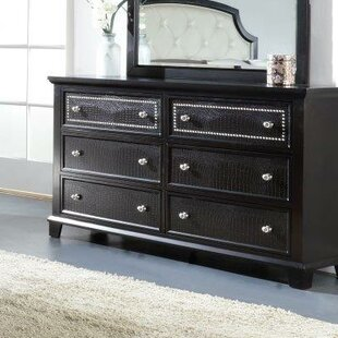 Kay 6 Drawer Double Dresser
