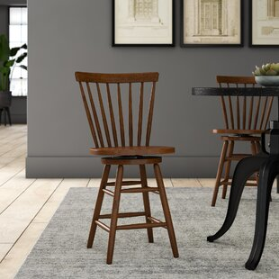 Marni 30 Swivel Bar Stool by August Grove