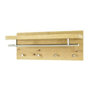 Review Brawley Wall Mounted Coat Rack