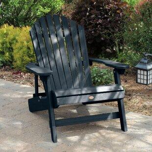 Camacho King Plastic Folding Adirondack Chair by Longshore Tides