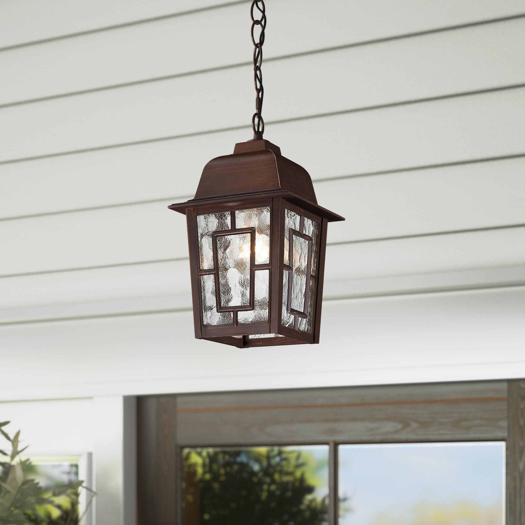 Sol 72 Outdoor Payeur 1 Light Hanging Lantern
