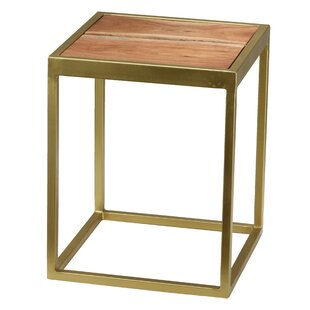 Read Reviews Bozeman End Table by Union Rustic