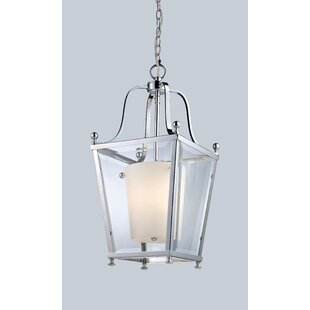 Darby Home Co Cully 3-Light Lantern Pendant