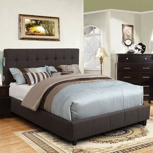 Sedgerock Padded Fabric Upholstered Platform Bed
