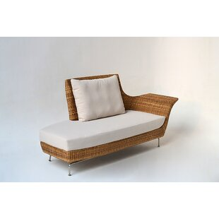 Ates Recamiere Patio Sofa with Cushions by Bloomsbury Market
