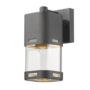 Knarr 1-Light Outdoor Wall Lantern by Latitude Run Read Reviews